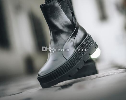 8644b0d9e6d5 2019 Good Price Rihanna X Fenty Chelsea Sneaker Boot