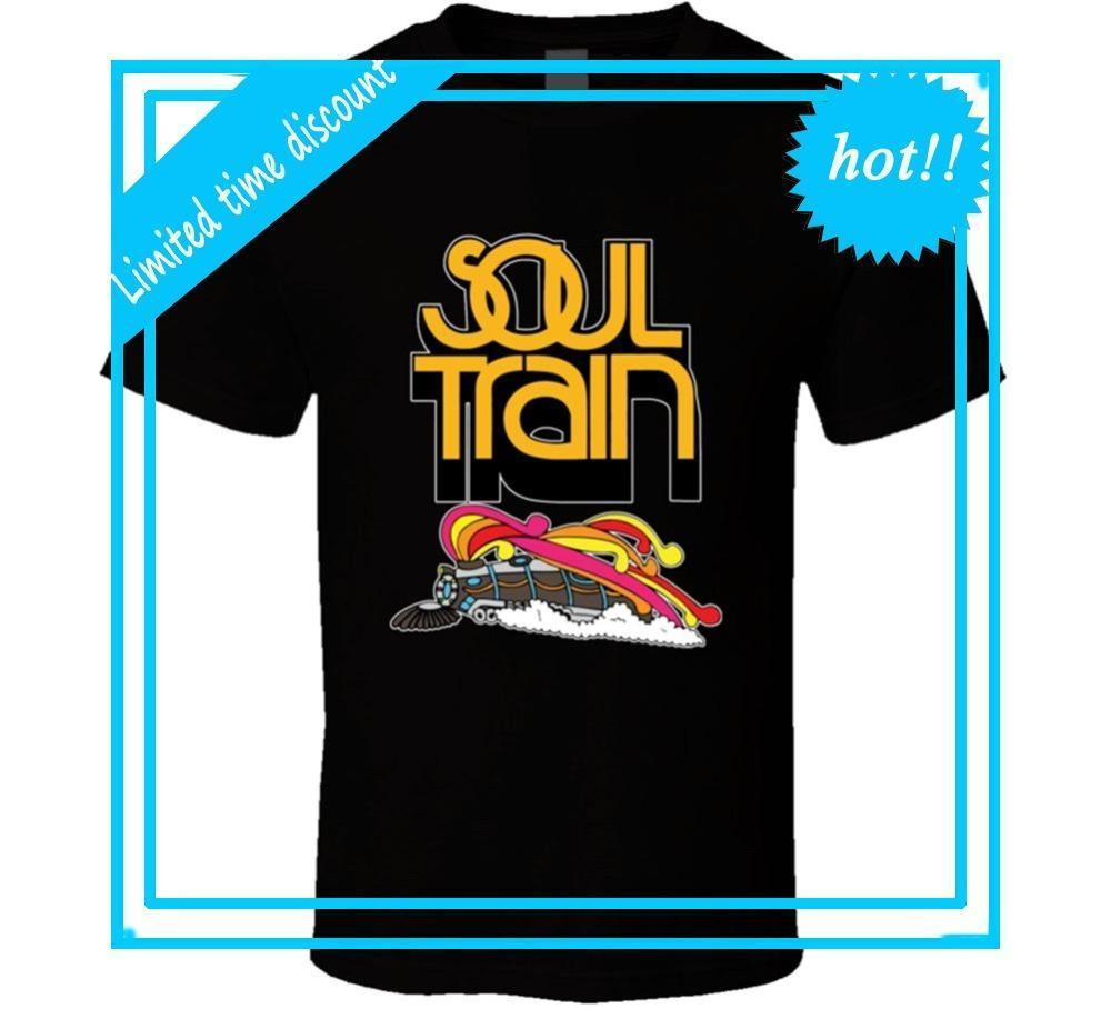 2018 Best T Shirts Best Soul Train Men Bla T Shirt Class Tv Shows R 60s 70s 80s MusNew Funny Cotton Short Sleeve Shirts For Men