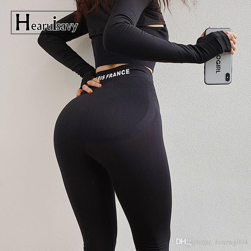b308c682cdd98 2019 High Waist Seamless Gym Leggings Sport Women Fitness Flex Booty  Leggings Scrunch Butt Tight Strechy Skinny Compression Yoga Pant #622184  From ...