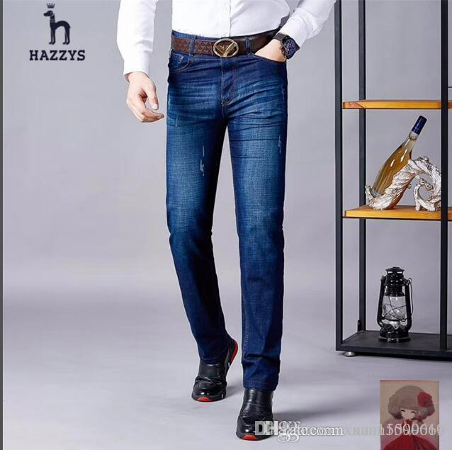 f3b1cad53b Compre Pantalones Vaqueros Para Hombres Pantalones Vaqueros Para Hombres  Estilo Coreano Verano Suelto Primavera Y Otoño Estilo Verano Estilo Delgado  ...