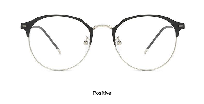d61005cf48 Clear Lens Big Round Rim Copper Eyeglasses Frames Three Colors