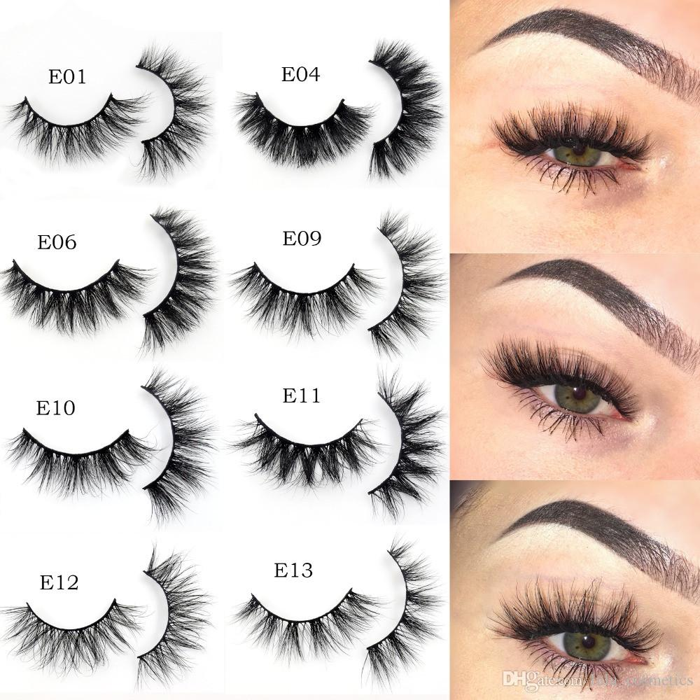 351f0450919 Mink Lashes 21 Styles 3D Mink Eyelashes 100% Cruelty Free Lashes Handmade  Reusable Natural Eyelashes Popular False Lashes Makeup E Series Mink Lashes  E ...