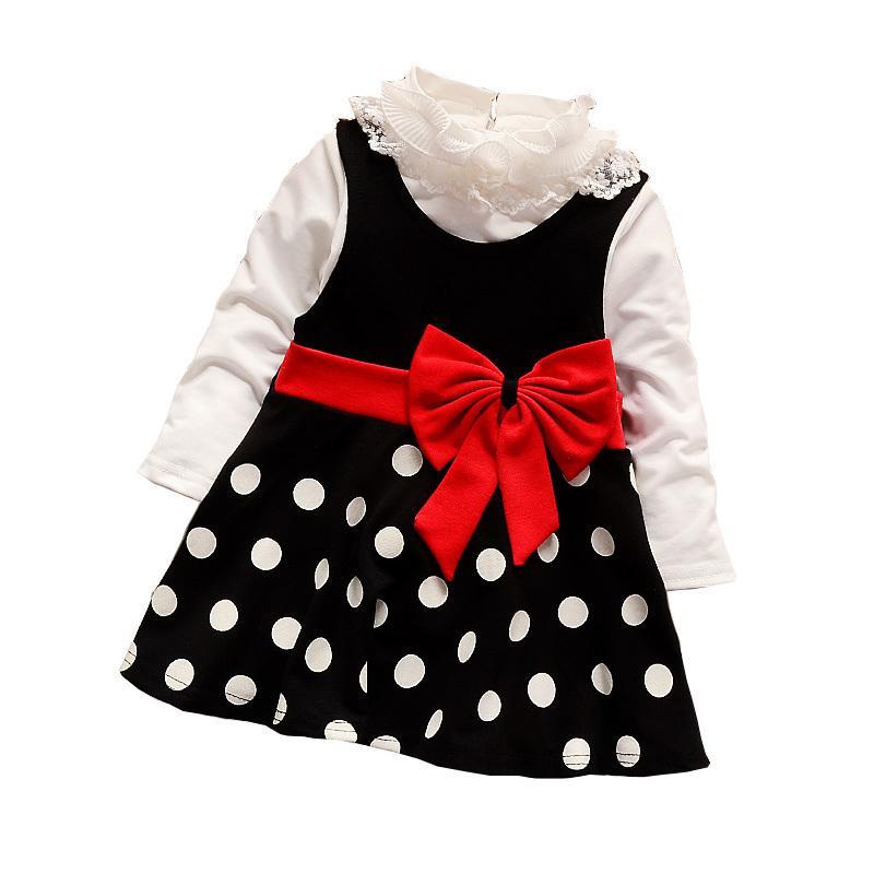 Mädchen Kleid Anzüge Sommer Kinder Kleidung Der Kinder Baby Kuchen Kleider Mode Dot Kleidung Mädchen Prinzessin Party Kleid Kinder Kleidung Home