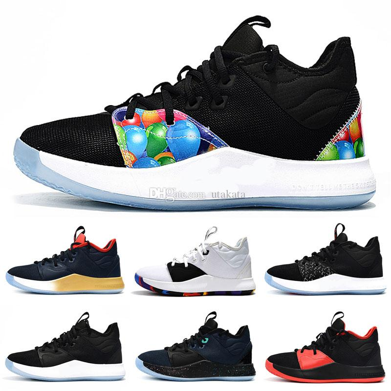 5ffb3a1a8ccb 2018 New Paul George 3 Console Mens Basketball Shoes For Good Quality  Multicolor PG III Chaussures Classic Sports Shoes Sneakers SIZE 7 12 Mens  Loafers ...