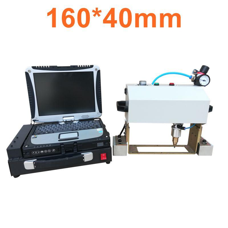 16040 cnc marking system desktop cnc pneumatic dot peen marking machine Pneumatic vin number machine