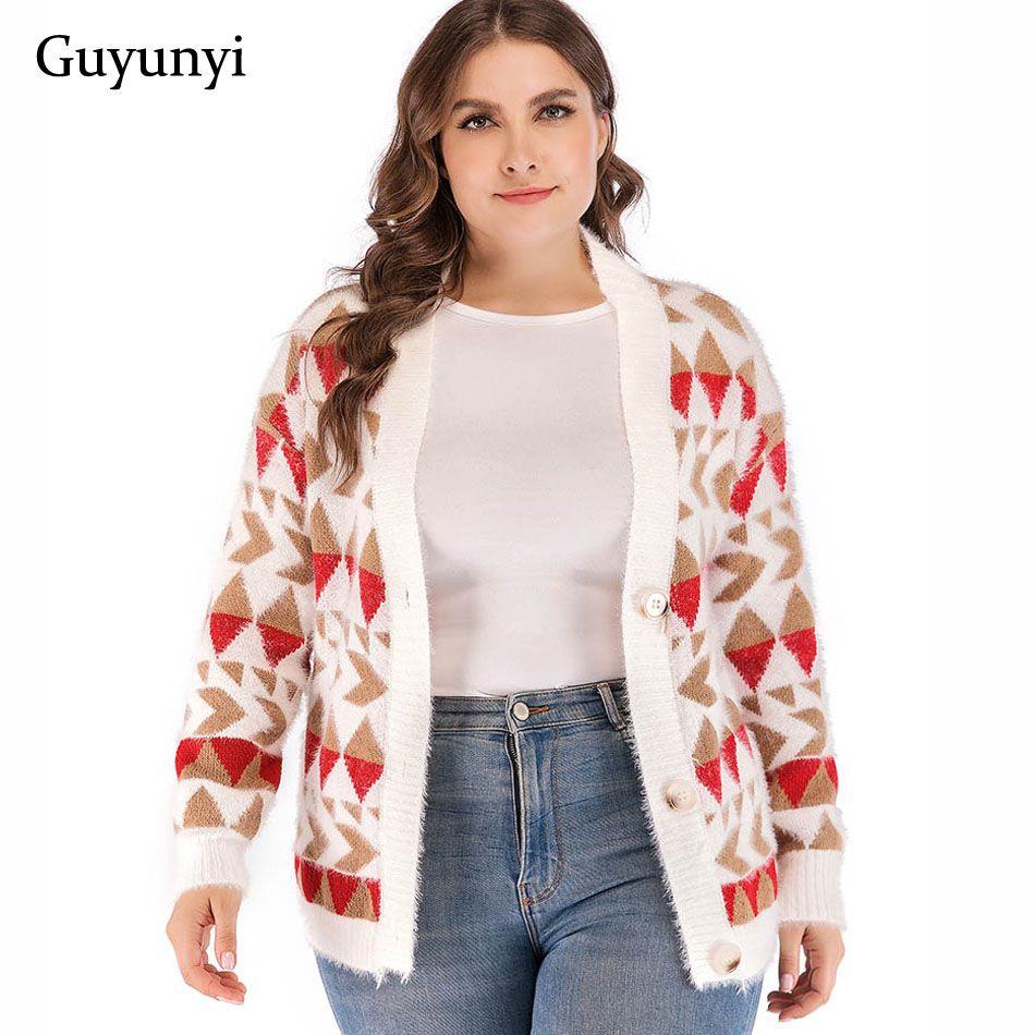 2019 Trend Sweaters Hot 2018 Women Sweater Cardigan Womens Winter Clothes  Hot 2018 Geometric Sweater Cardigan Warm From Bida Josh 23a534c9a