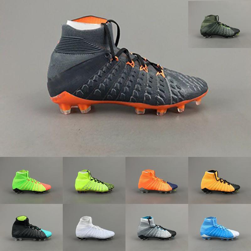 super popular 771d7 8e617 Hot sale Soccer Man Shoes CR7 Mercurial Superfly 6 VI Melhor Elite Ronaldo  KJ 360 FG Football Boot Men Soccer Cleats