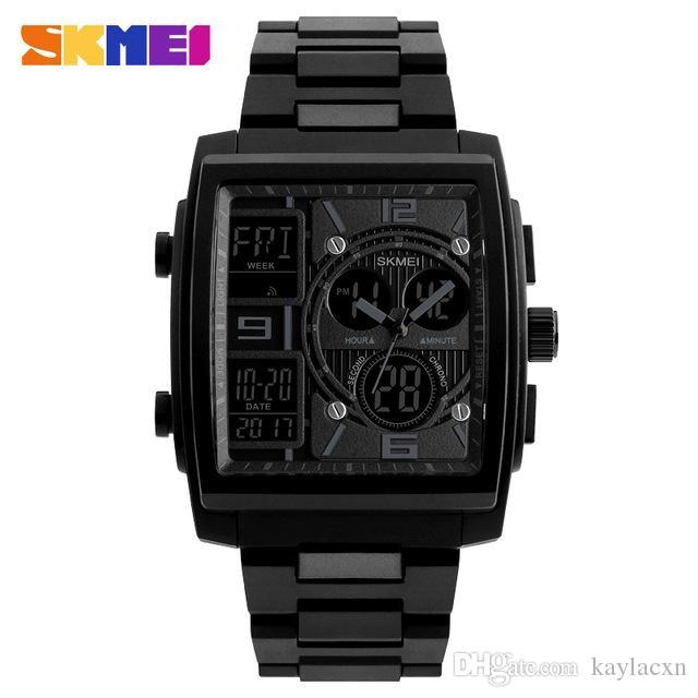Digital Watches Skmei Luxury Brand Fashion Men Watches Sports Digital Watch Waterproof Alarm Man Wrist Electronic Clock Men Relogio Masculino
