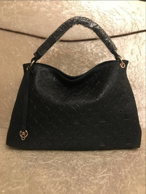 a6a68f8565c7 2018 Famous Brand H K Totes Bags Luxury Women Genuine Leather Bags Fashion  Lady Handbag Factory Wholesale In Stock Real Imag Handbag Brands Reusable  ...