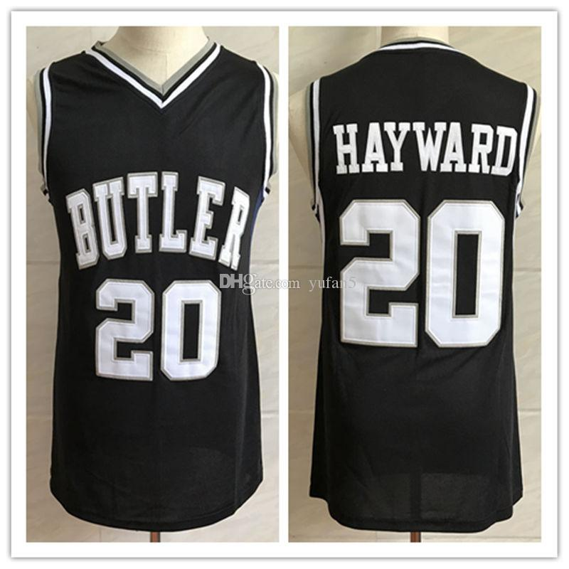 new concept a4ab4 377c9 #20 Gordon Hayward Butler Bulldogs College Retro Classic Basketball Jersey  Mens Stitched Jerseys
