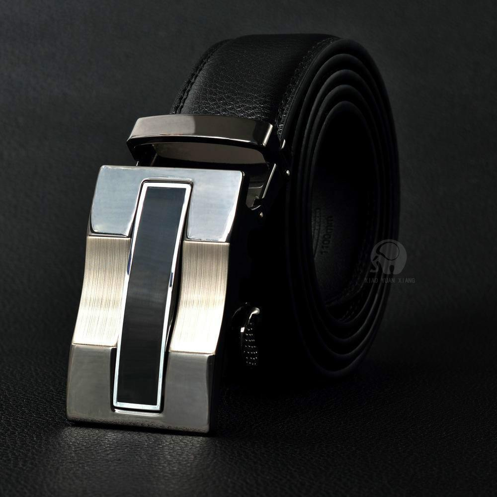 Best quality designer brand name fashion Men's Business Waist Belts Automatic buckle belts For Men 105-125cm free shipping