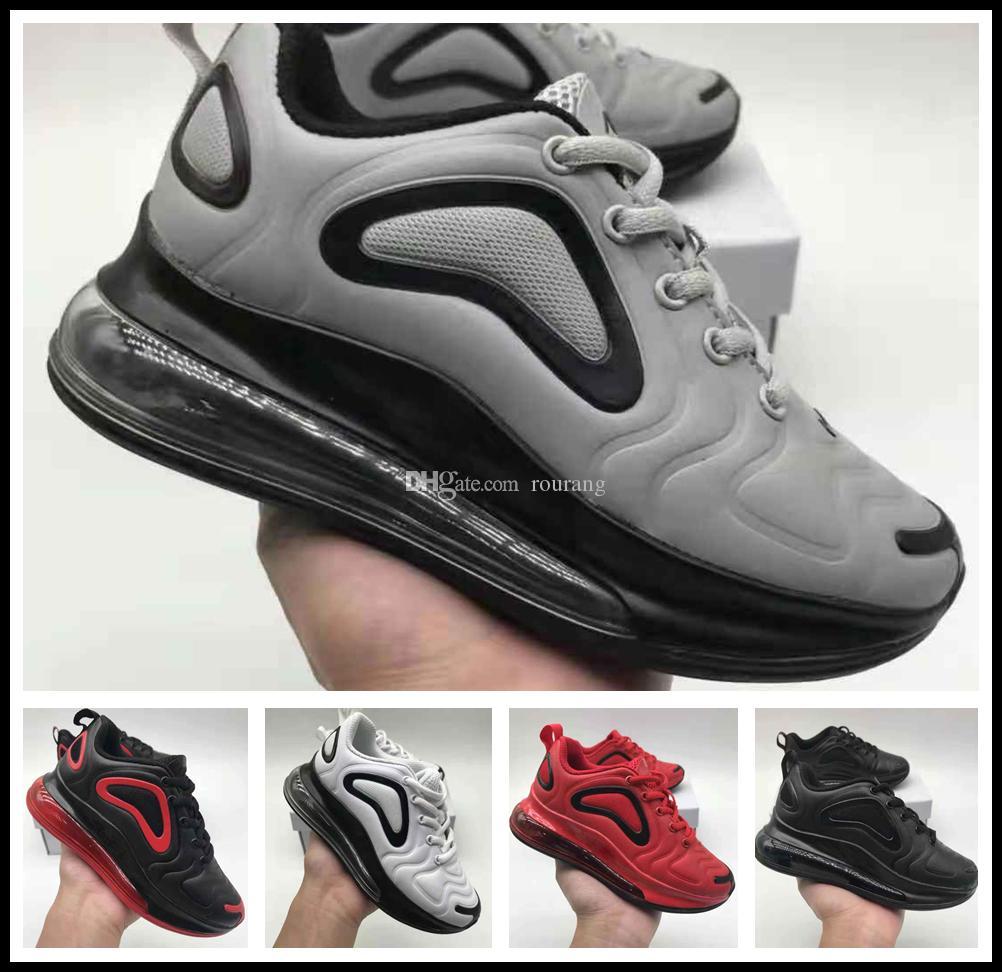 hot sales 68716 ae0eb Compre Nike Air Max Airmax 720 Vapormax Hot 720 Niños Zapatillas De Deporte  Para Niños Zapatillas De Deporte Al Aire Libre Boy Girl Trainer Zapatos De  Bebé ...