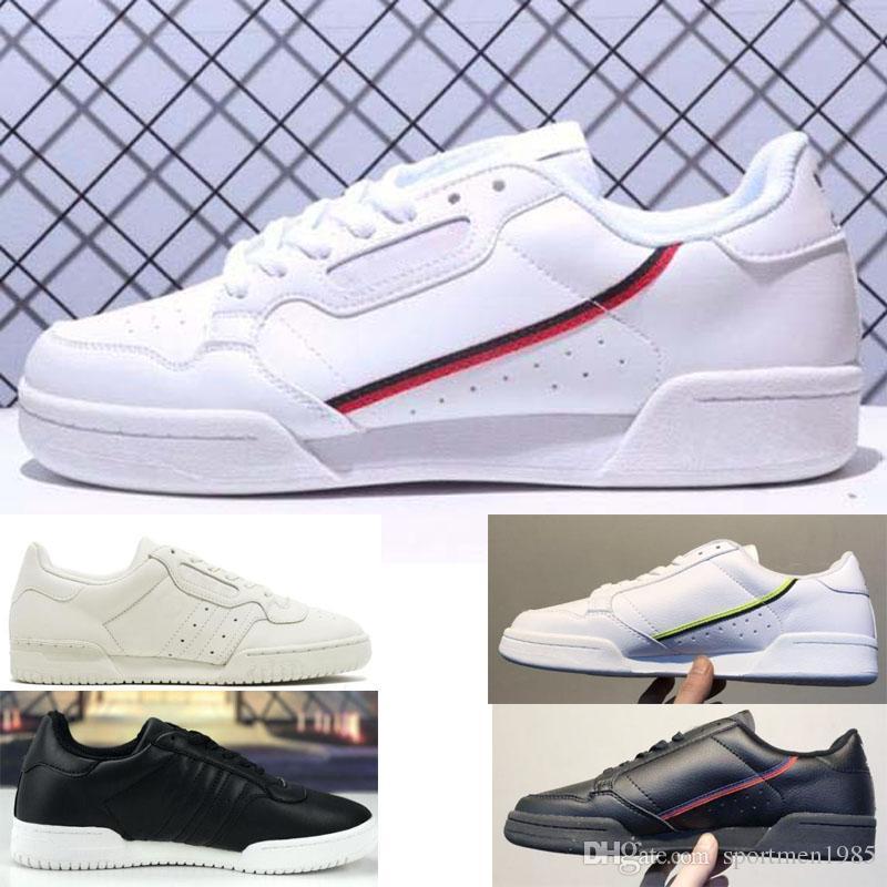 2019 Adidas shoes men women Nouveau Continental 80 og Chaussures De Conseil En Cuir De Vachette Originals Continental Des Années 80 Rascal Hommes