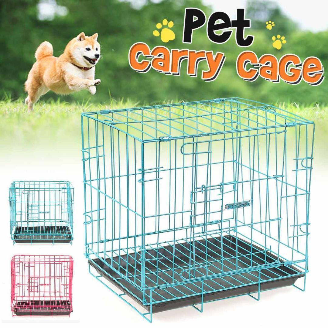 Portable Foldable Playpen Pet Dog Crate Room Puppy Exercise Kennel Cat Cage Pet Dogs Cats House