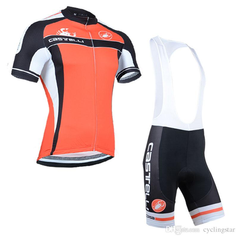 Summer Hot Sale 2019 Cycling Jersey Set Castelli MTB Bicycle ... 84d9d7b26