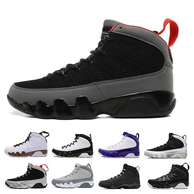 2018 9 men basketball shoes 9s OG Space Jam Anthracite The Spirit Bred Cool Grey LA PEJohnny Kilroy Athletics Sneaker
