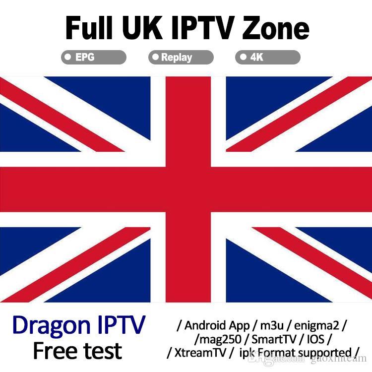 UK abonnement iptv subscription 290 Live VOD Football Match Channles HD 4K  For Android TV Box M3U Smart TV Reseller Panel Free Test