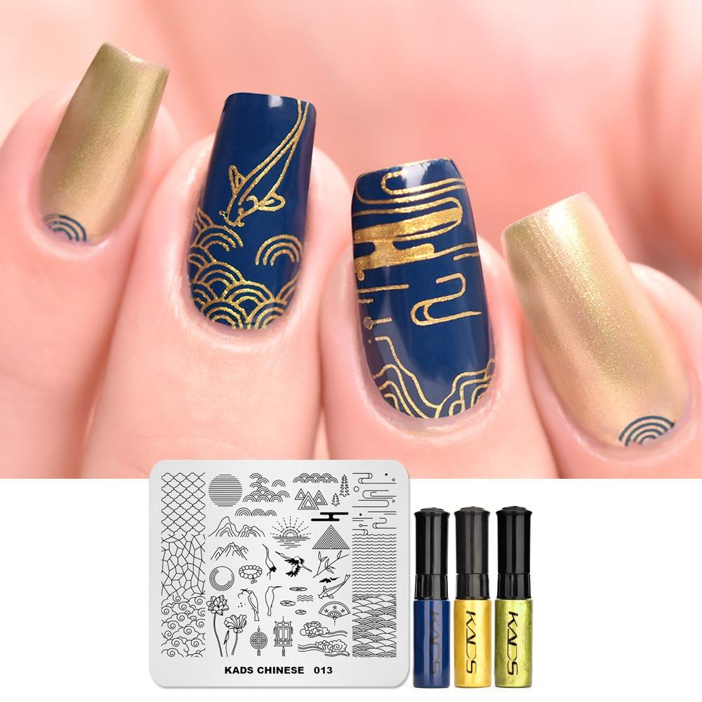 photograph relating to Free Printable Nail Art Stencils referred to as New Printable Nail Artwork Stencils