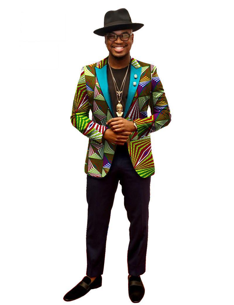 b353107a33a6 Acquista Blazer Primavera Uomo Blazer Costume Homme Africa Bazin Riche 6XL Abbigliamento  Uomo Abiti Formales Spedizione Gratuita 6xl BRW WYN202 A $32.64 Dal ...