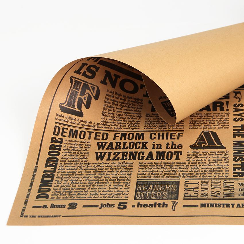 Tagesprophet Retro Poster Harry Potter Classic Movie Wandaufkleber für Kinderzimmer Ausgangsdekor-Tapete Großhandel