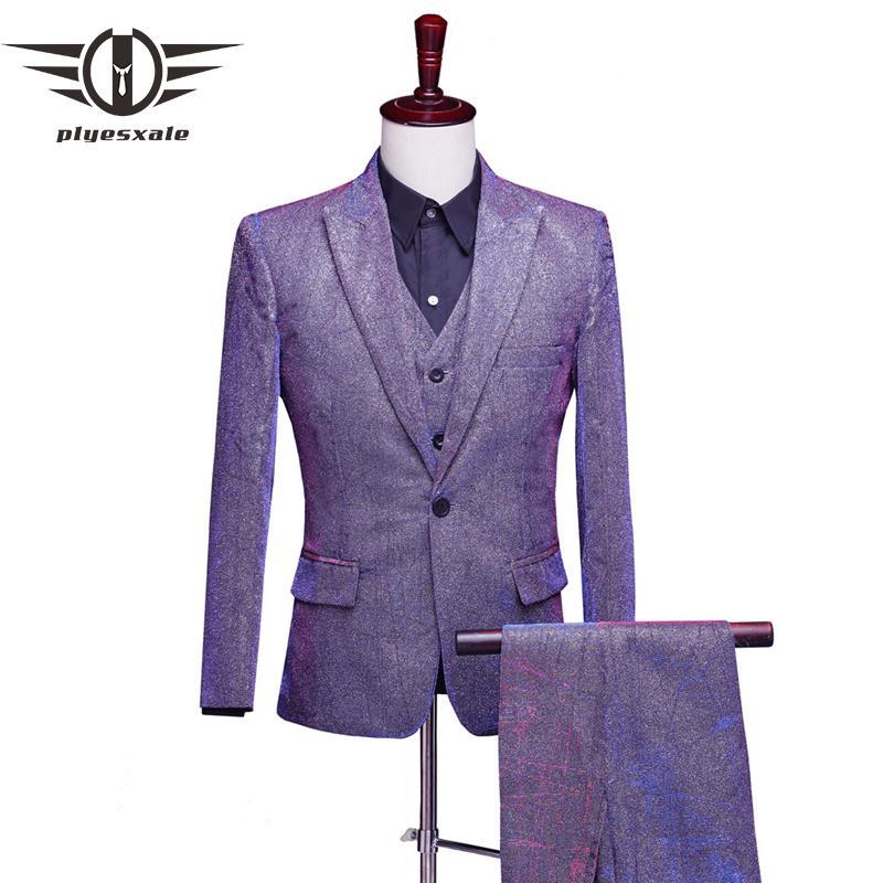 9f6c91719b 2019 Plyesxale Discoloration Mens Suits Designers 2019 Vintage ...