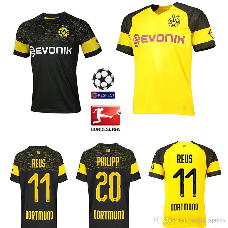 1932f49dfca 2018-19 bundesliga fc borussia dortmund jersey men soccer 11 gotze