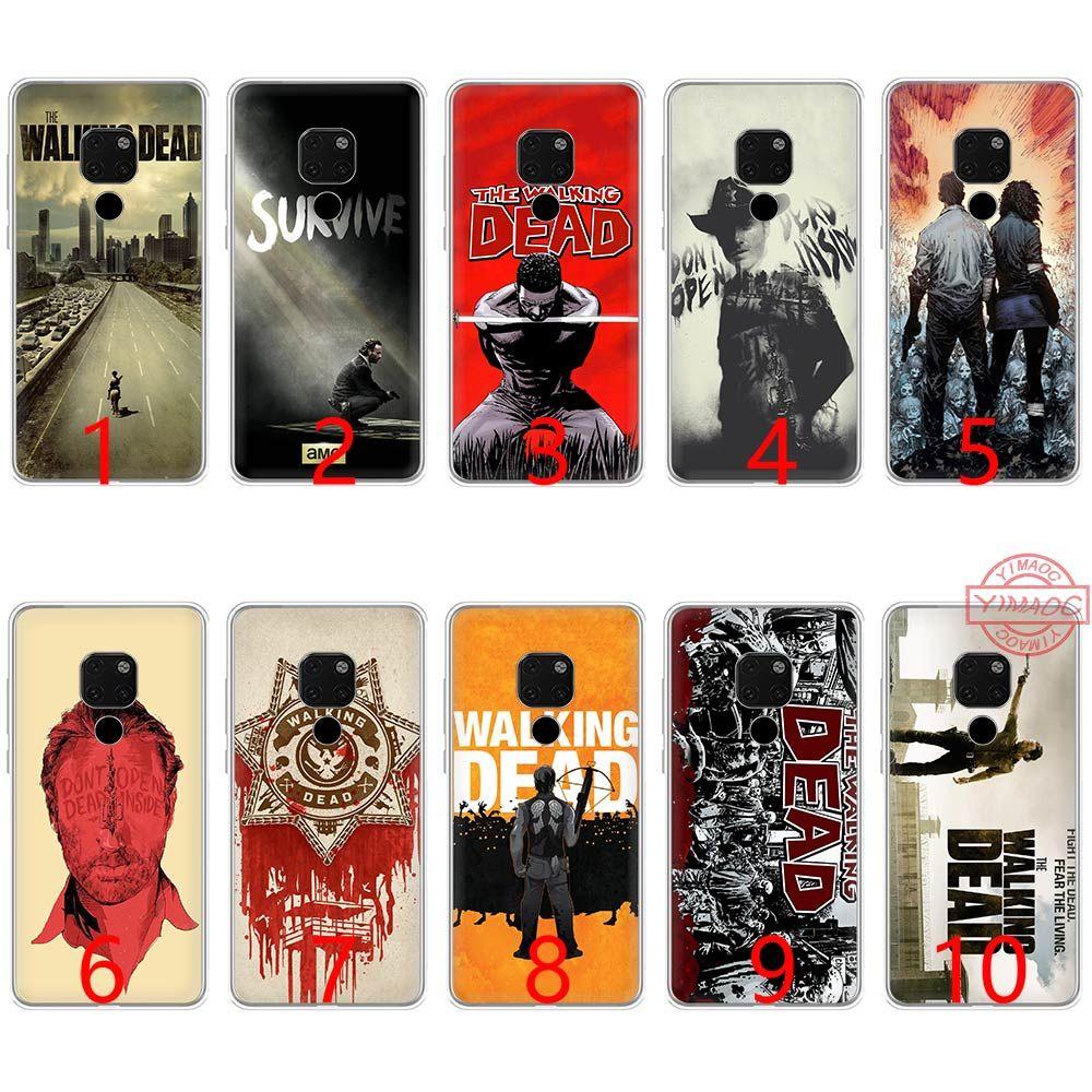 The Walking Dead Soft Silicone TPU Phone Case for Huawei Mate 20 10 Pro  Nova 2i 3 3i 4 Lite