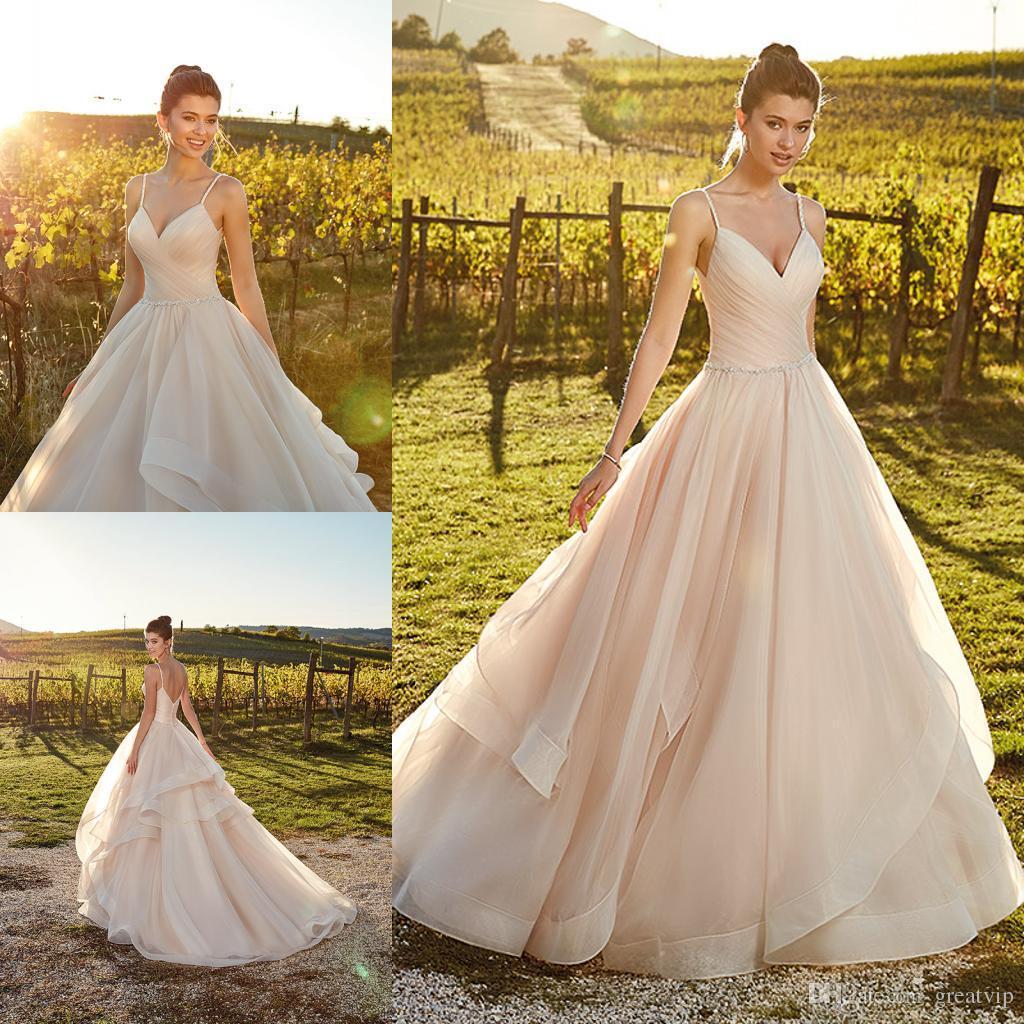 323aa5226dac Cheap Backless Beach Wedding Dresses Katie Discount Drop Waist Wedding  Dresses Cheap