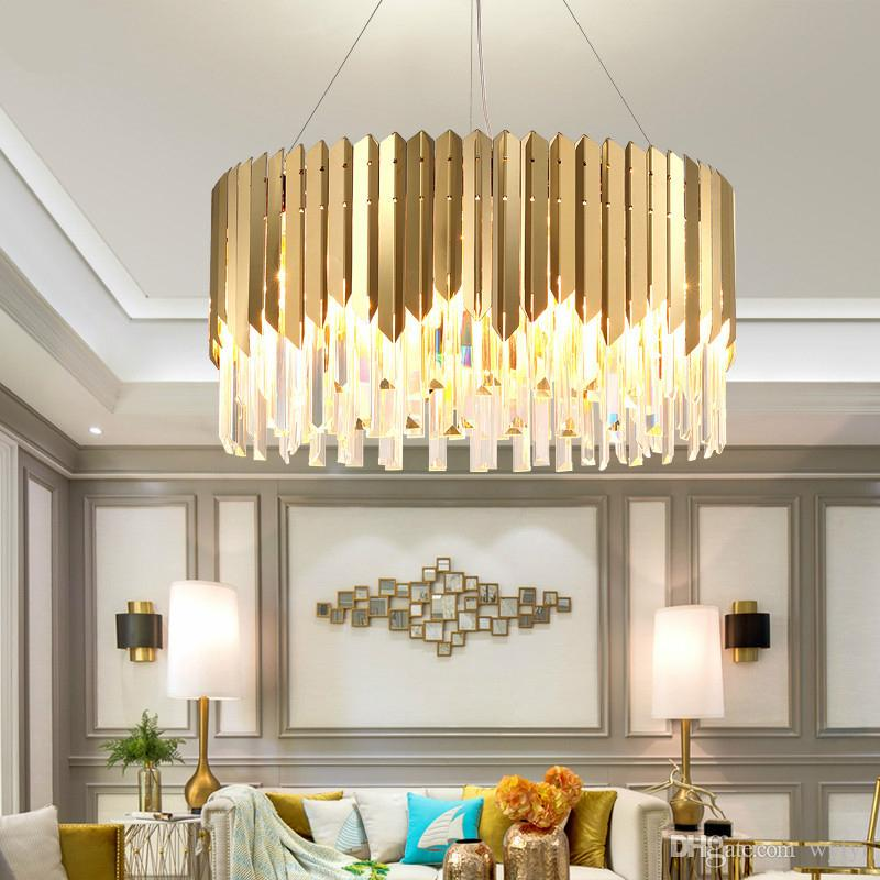 Led Chandeliers Living Room Suspension Luminaires Ceramic Suspended Lamps Luxury Lighting Fixtures Bedroom Hanging Lights Ceiling Lights & Fans