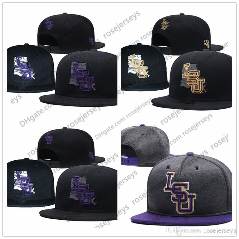 7c461f57ed7 NCAA LSU Tigers Caps 2018 New College Adjustable Hats All University ...