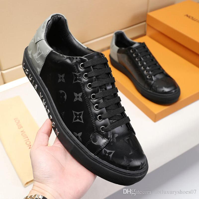4f1f2d0cab Compre Zapatos Con Punta Redonda Para Hombre Zapatos Planos Casuales  Zapatillas De Deporte De Moda Zapatos De Hombre 2019 Gimnasio Al Aire Libre  Luxemburgo ...
