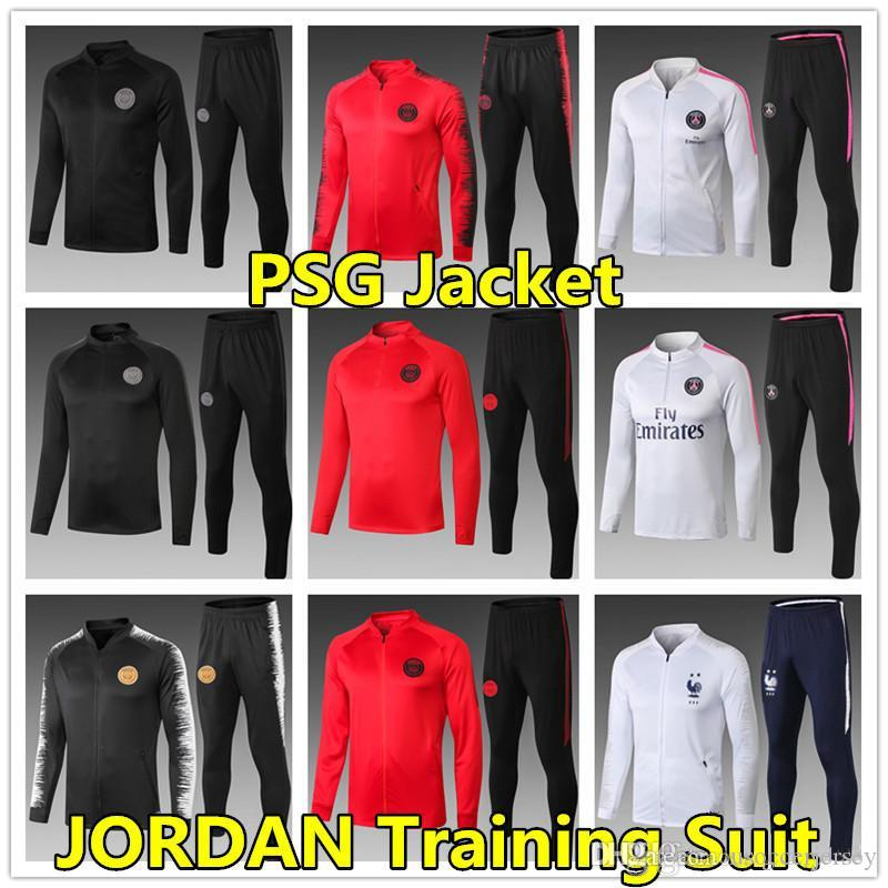 1c347b54f8b 2019 psg paris saint germain fr soccer jerseys 18 19 training suit