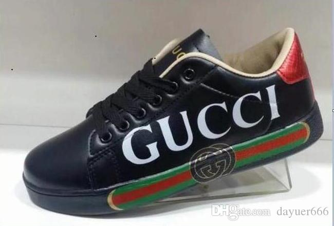 f79771307 GUCCI Fashionable Sales Of Large White Shoes Leather Designer ...