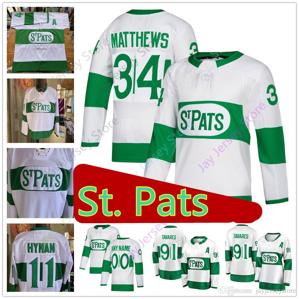 61b778714 2019 2019 Custom Toronto St. Pats Maple Leafs Jersey Mitch Marner John  Tavares Morgan Rielly Auston Matthews Kasperi Kapanen Kadri Johnsson Marle  From ...