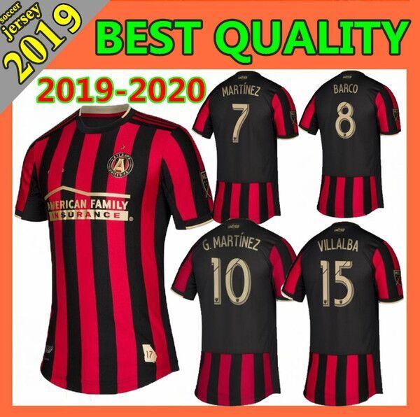 timeless design 98c62 479bb New 19 20 Thailand Quality Atlanta United Football Team Jersey VILLALBA  MCCANN Major League Soccer Team GARZA JONES 2019 2020 NAGBE BARCO Ho