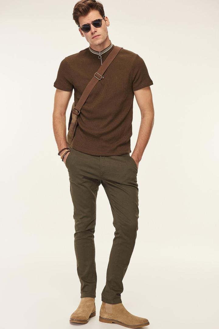 593286b8b38 2019 Trendyol Men S Khaki Pants Chino Smart Casual From Geraldi ...