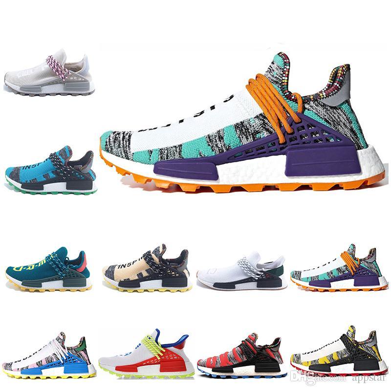 e25ef2d09 Compre Designer De Corrida Humana Hu Trilha Pharrell Williams X Homens Nerd  Tênis Branco Preto SOLAR PACK Mens Formadores Mulheres Sports Sneaker  Tamanho 36 ...