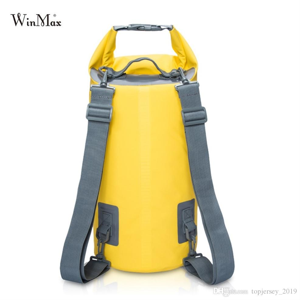 7a80c6ba9050 2019 Winmax Outdoor Waterproof Dry Bag Backpack Sack Storage Bag Rafting  Sports Kayaking Canoeing Swimming Bags Travel Kits Backpack  29012 From ...