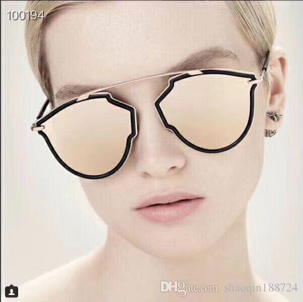 febdd6e5d Compre Venda Nova 2019 Mulheres De Alta Qualidade Óculos De Sol Ascensão  Antirreflexo Marca Óculos De Sol Moda Oculos Borboleta Retro Uv400  Envoltório Do ...