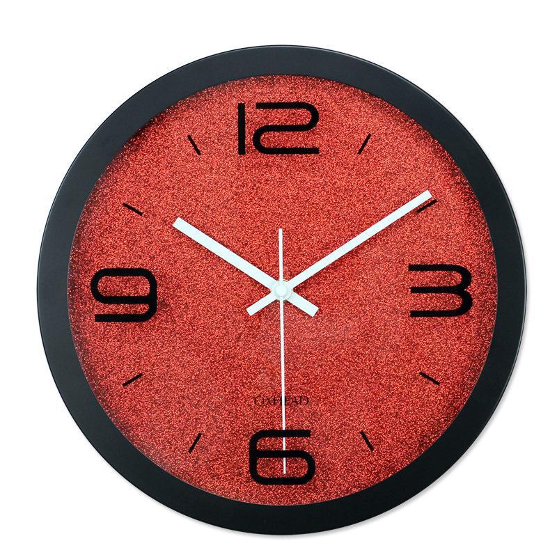 Acheter Muet Numerique Horloges Murales Design Moderne A Quartz Mur