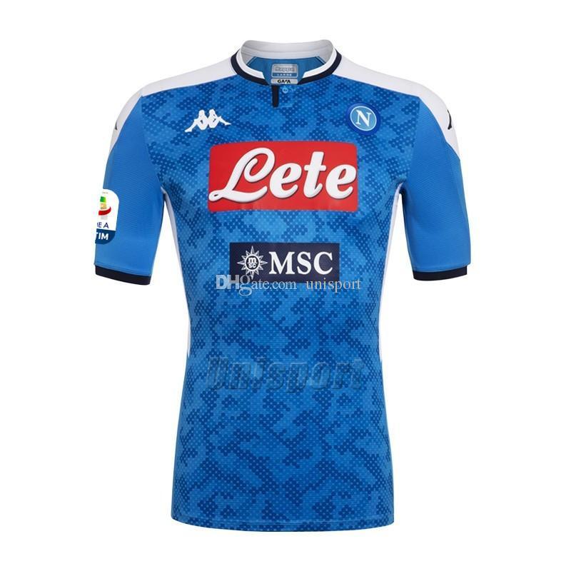 158e537a Acheter 2019/20 SSC Napoli Maillots De Football Manolas Hamsik ...