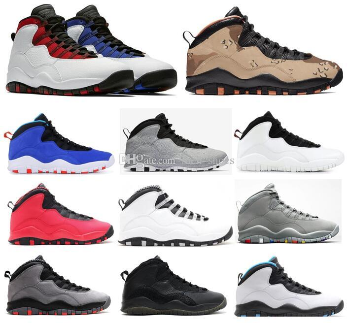 3485cb110403f1 High Quality 10 Desert Camo Westbrook Red Blue Tinker Cement Men Basketball  Shoes 10s Cool Grey Infrared I M Back Steel Sneakers With Box Sneakers For  Men ...