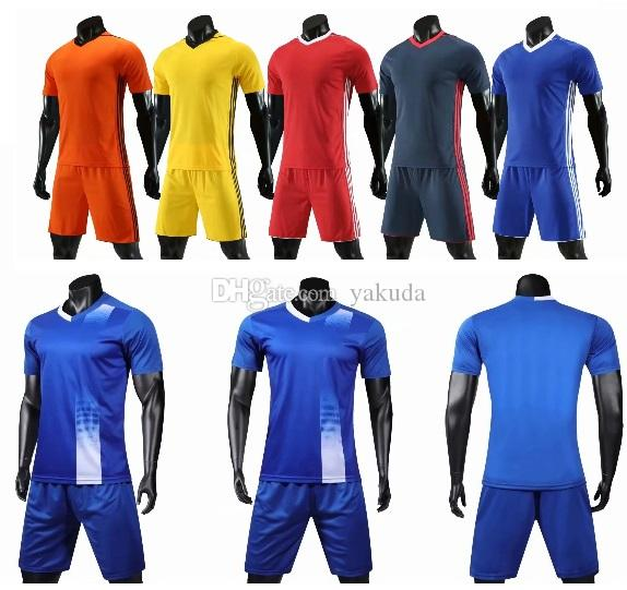 ea0a5b18 2019 2019 New Men Customized Soccer Jerseys With Shorts Near Me ...