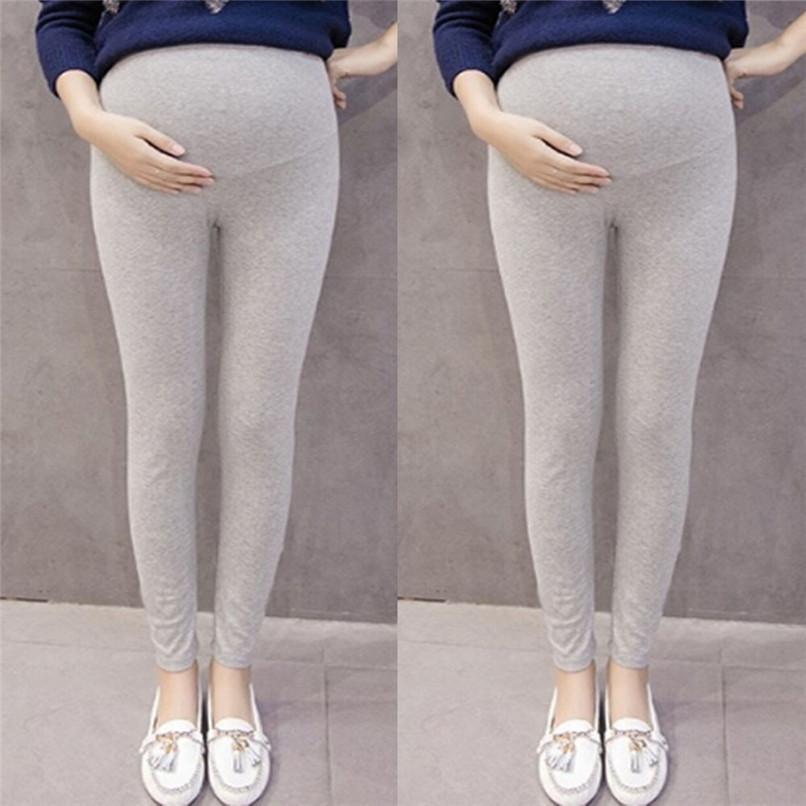 shop davvero economico preordinare Vestiti premaman Vestiti incinti Women Maternity Pregnant Solid Tights  Pantaloni Pantaloni Maternity Pants ropa maternidad D03