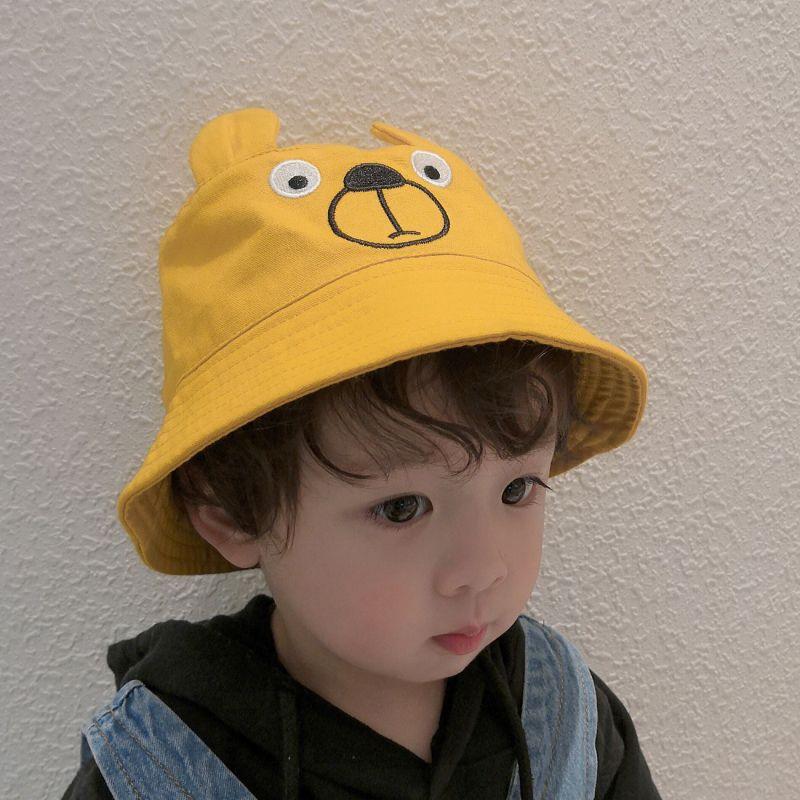 3033ed51 2019 Cute Cartoon Child Fisherman Hat Spring Girl Flat Top Hat Boy Fisherman  Hat Summer Baby Hats Basin Cap Sun Mats Visor From Glorymfy, $6.99    DHgate.Com