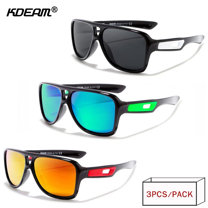 190208d323181 KDEAM 2018 Year-End Promotion Men Sport Sunglasses Polarized Oculos ...