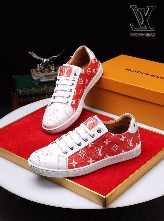 duping520 New printed leather red casual shoes Men Dress Shoes BOOTS LOAFERS DRIVERS BUCKLES SNEAKERS SANDALS