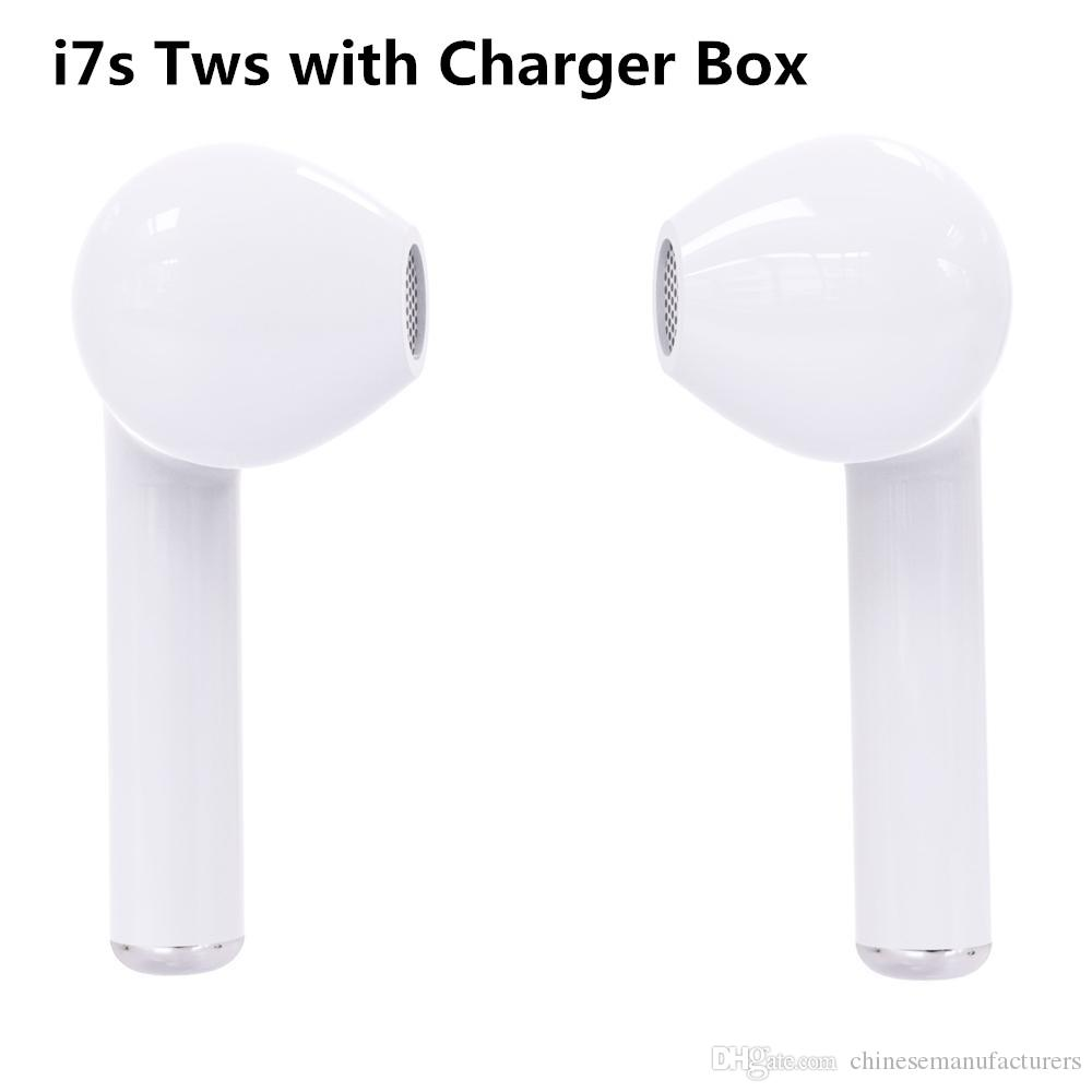 a04a99f0ade 2019 New I7S TWS Twins Bluetooth Earbuds Mini Wireless Earphones Headset  With Mic Stereo V4.2 Headphone Phone Android With Retail Package Mobile  Headset The ...