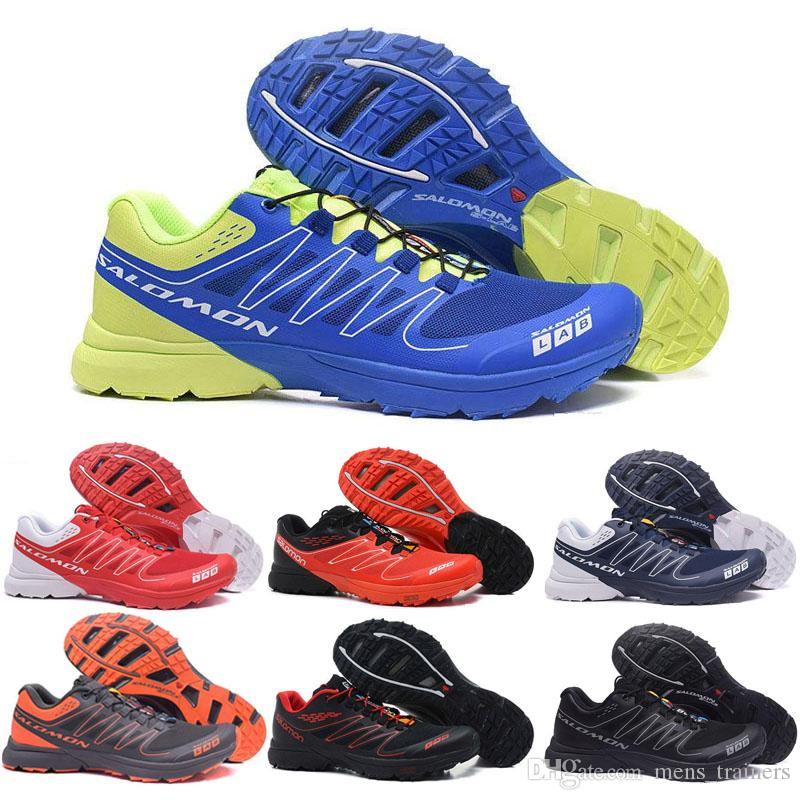 finest selection ad0f6 e903b Salomon Shoes Hot S-Lab Speed Cross CS Scarpe da corsa Uomo Triple  SpeedCross Outdoor Hiking Sport Sneaker Blue Designer Scarpe da ginnastica  Taglia ...