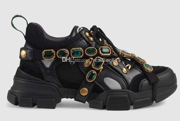 5A 537153 Flashtrek Sneaker With Removable Crystals 4d5047587e97